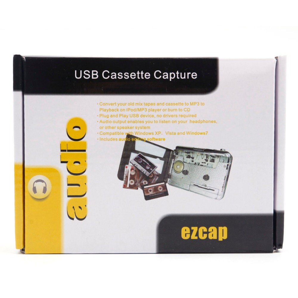 cassette record player Portable USB Cassette Player Capture Cassette Recorder Converter Digital Audio Music Player DropShipping 4