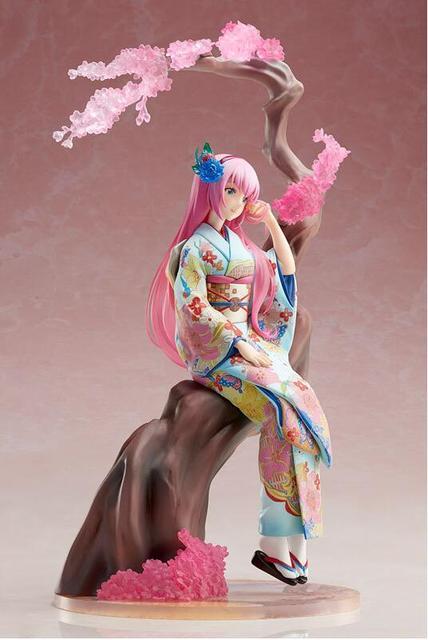 25cm Hatsune Miku Megurine Luka doll Anime Figure PVC Collection Model Toy Action figure 1