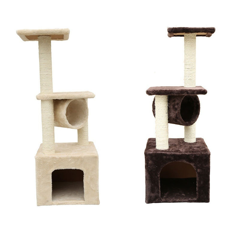 "36"" Cat Tree Tower Condo House Furniture Scratching Post Scratcher Pet Play Toy Cat Furniture Scratching Post 907"