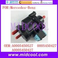 Yeni Vakum Basınç Dönüştürücü Solenoid Valf kullanımı OE NO. A0005450527  A0005450427  Mercedes-benz için 0005450427