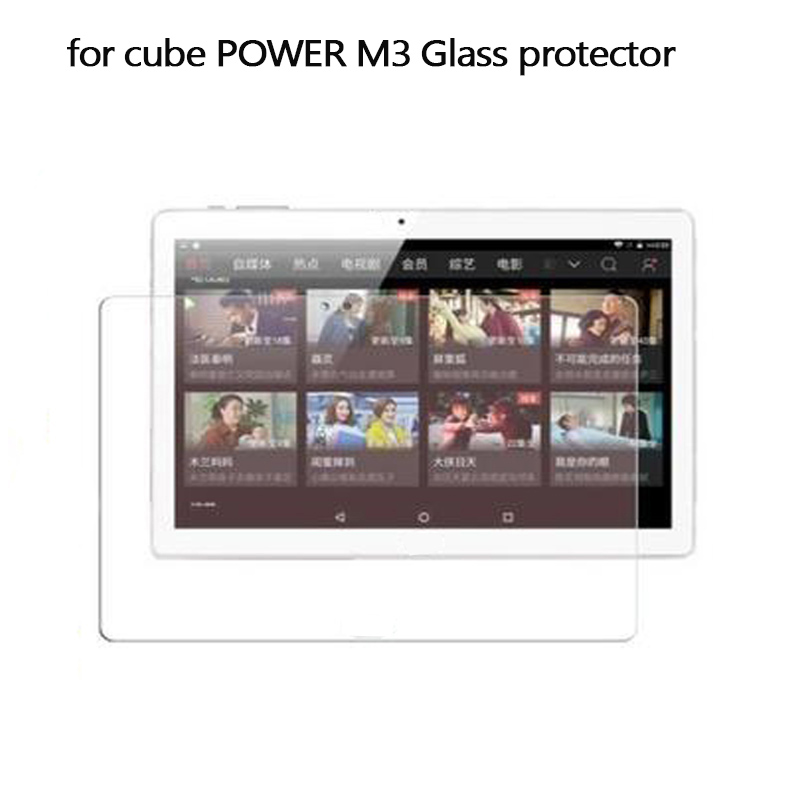 In Stock for cubePower M3 Glass Films Screen Protector Alldocube Power M3 10.1inch Tempered Glass Film benks tempered glass for xiaomi 5 2 5d radians screen protector