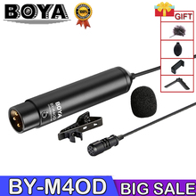 BOYA BY-M4OD by m4od Omni-Directional Lavalier Microphone for Sony Panasonic Camcorder ZOOM H4n H5 H6 цена 2017