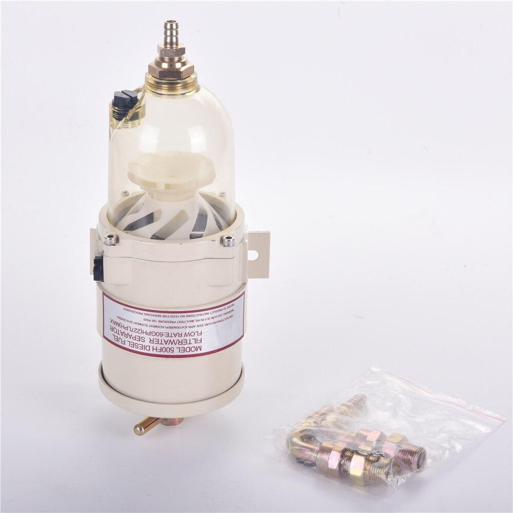 fuel filter water separator no original racor turbine
