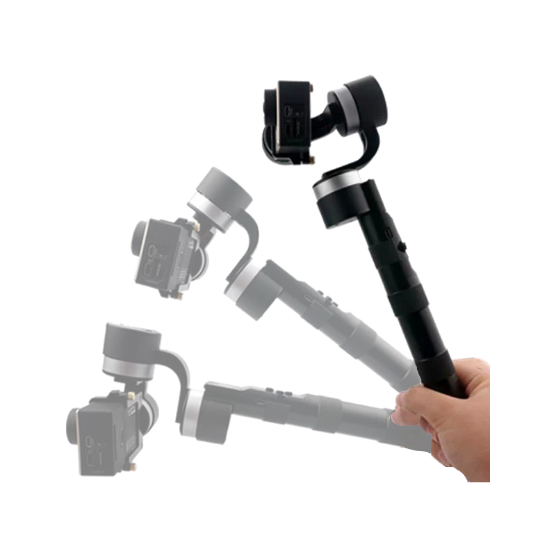 ZHIYUN Z1-PROUND 3-Axis Handheld Action Camera Stabilizing Stabilizer Brushless Gimbal for GoPro Hero 3/3+/4 [hk stock][official international version] xiaoyi yi 3 axis handheld gimbal stabilizer yi 4k action camera kit ambarella a9se75 sony imx377 12mp 155‎ degree 1400mah eis ldc sport camera black