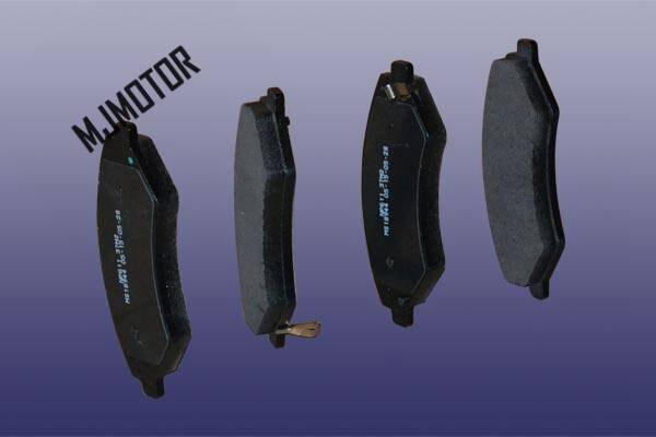 (1kit) jeu de plaquettes de frein avant pour T21-3501080 de pièces de moteur de voiture automatique chinois CHERY TIGGO 5 T21 - 3