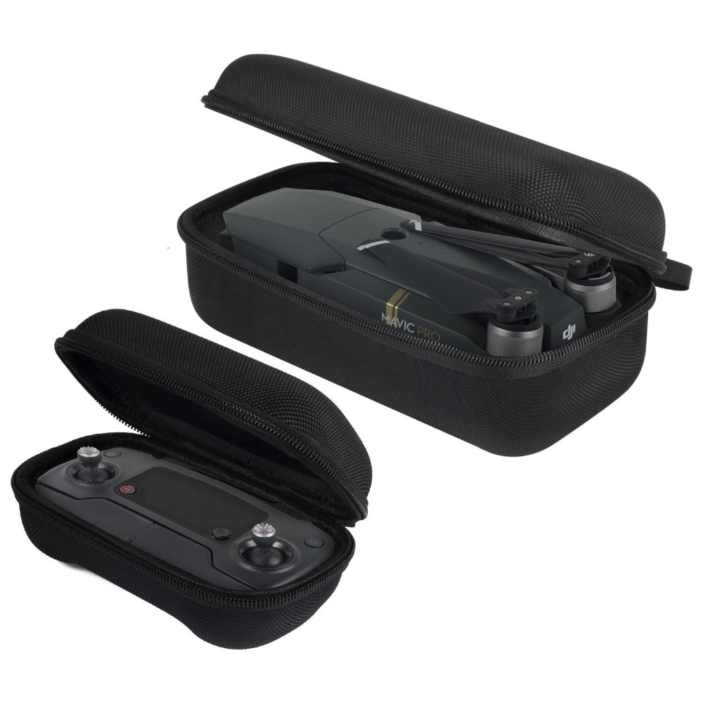 DJI Mavic Pro/Platinum Carrying Case Foldable Drone Body and Remote Controller Transmitter Bag Hardshell Housing Bag Storage rc dji mavic pro professional waterproof drone bag hardshell portable case handbag backpack battery charger storage bag