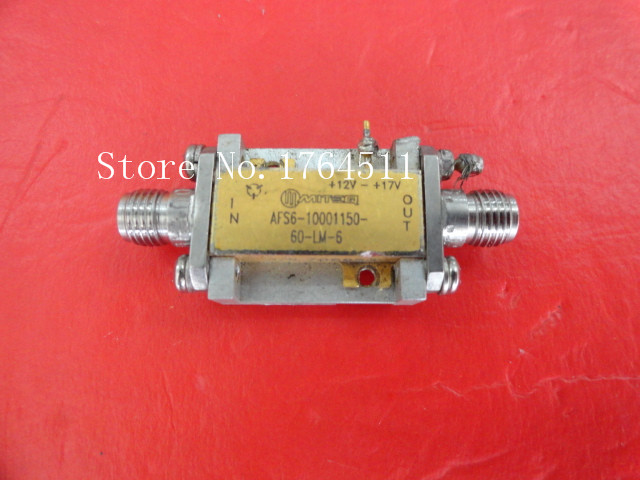 [BELLA] MITEQ AFS6-10001150-60-LM-6 Vin:12-17V SMA Supply Amplifier