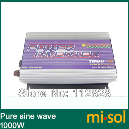 1000W Inverter 12V/120V/60Hz, PURE SINE WAVE, for solar system, for photovoltaic1000W Inverter 12V/120V/60Hz, PURE SINE WAVE, for solar system, for photovoltaic