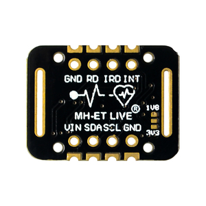 Image 4 - MH ET LIVE MAX30100 MAX30102 Heart rate Sensor Module Puls detection Blood oxygen concentration test For Arduino Ultra Low Power