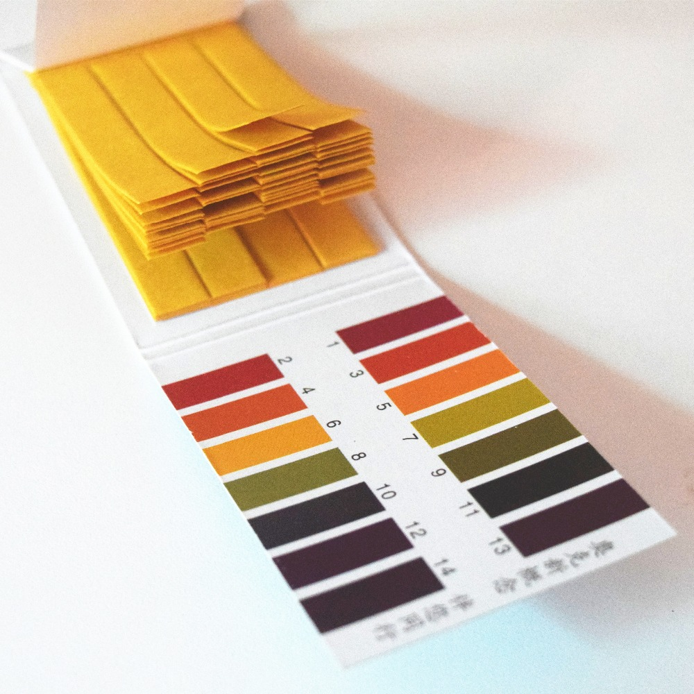 High Quality 80 Strips PH Test Strip Aquarium Pond Water Testing PH Litmus Paper Full Range Alkaline Acid 1-14 Test Paper Litmus