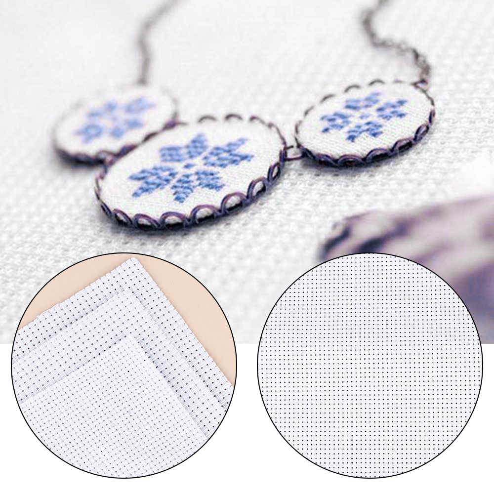 1 Pc 刺繍生地ハンドメイド刺繍生地キャンバスクロスステッチ Diy の縫製縫製手芸刺繍布