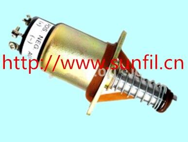 Здесь можно купить  Wholesale FUEL SHUTOFF SOLENOID 1700-2526 1751-12A2U1B1S1A (3 terminals), 3PCS/LOT 12V Wholesale FUEL SHUTOFF SOLENOID 1700-2526 1751-12A2U1B1S1A (3 terminals), 3PCS/LOT 12V Электротехническое оборудование и материалы