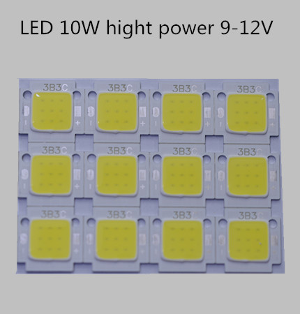 Free Shipping 200pcs/lot LED 10W light beads led 10w chip 900LM Lamp Light White Warm white cold white High Power 20*48mli Chip 10pcs free shipping ncp1337p ncp1337 dip 7 lcd tv chip power management chip 100