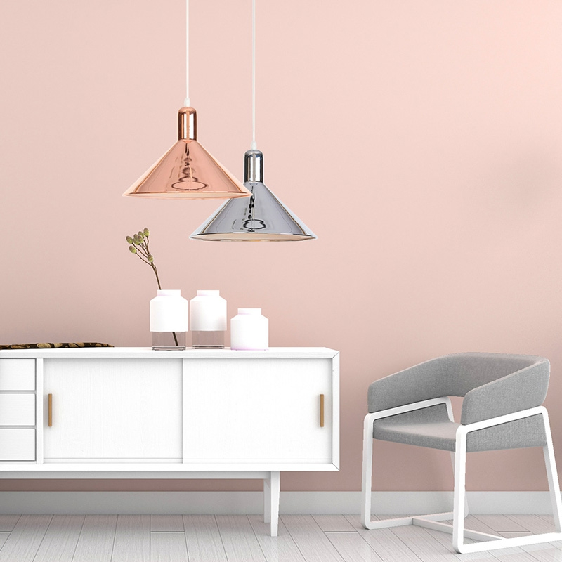 Welp Modern rose gold Hanging Lights for bedside lamp Nordic Loft Light NO-72