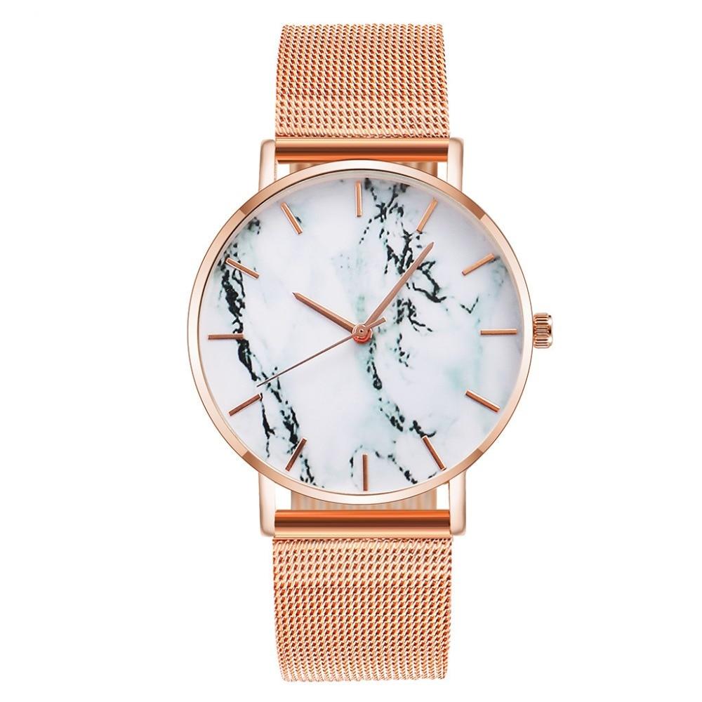 Vansvar Women Wrist Watch Casual Quartz Stainless Steel Strap Analog Watches Female Clock relogios femininos 2019 bayan kol saat