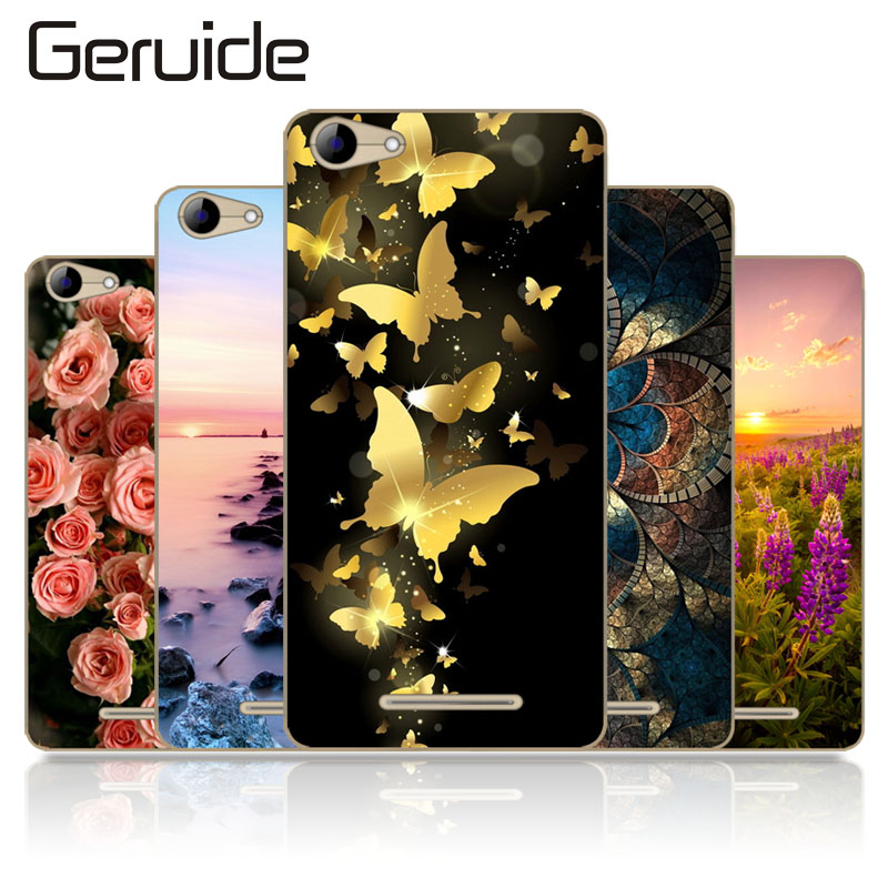 Geruide For BQ BQS 5065 Choice 5 0 quot Case Cover Soft Silicone Back Cover Case for BQS5065 BQ S 5065 Phone Case Cover in Half wrapped Cases from Cellphones amp Telecommunications