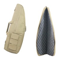 Tactical Heavy Duty Tactical Gun Slip Bevel Carry Bag Rifle Case Shoulder Pouch For Hunting