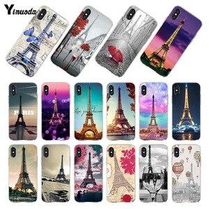 Чехол Yinuoda для iphone X, XR, XS MAX, чехол с надписью Love, Париж, Эйфелева башня, Франция, оболочка, чехлы для телефонов iphone 8, 7, 5, 5, 6, 6s Plus, чехол