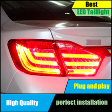 цена на Car Styling Tail Lamps for Toyota Camry V50 Tail Lights 2012 2013 2014 LED Taillight Rear Lamp Driving+Brake+Park+Signal