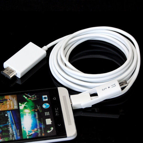 New 3M/10FT 5 Pin & 11 Pin Micro USB MHL to HDMI 1080P HD TV Cable Adapter for Android Phone