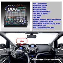 Car HUD Head Up Display For Ford C-Max C Max CMax 2010~2014 - Safe Driving Screen Projector Inforamtion Refkecting Windshield car hud head up display for ford c max c max cmax 2010 2014 safe driving screen projector inforamtion refkecting windshield