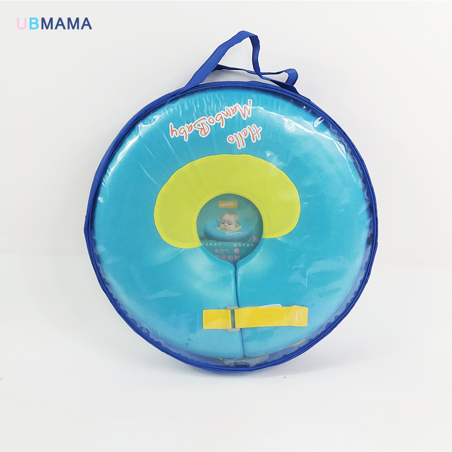 Maximum discount for Warehouse Clearance No need pump air Safety Swimming Ring Free inflatable collar Baby Neck  Ring Neck Float