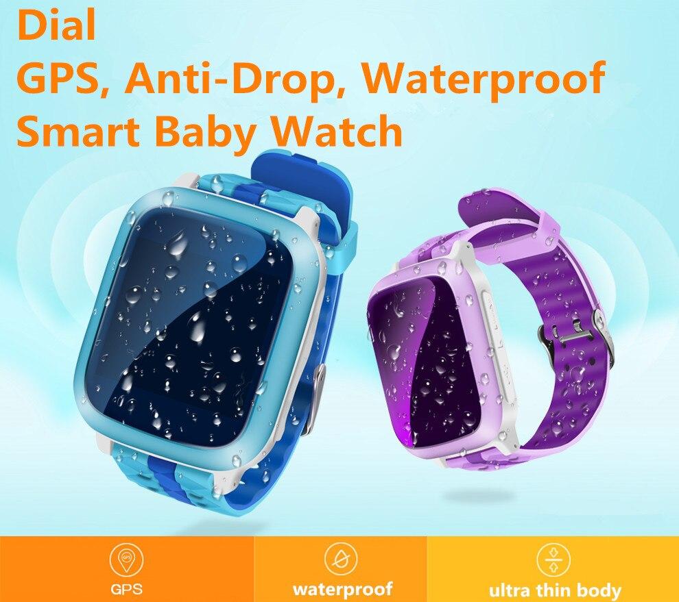 IP67 Waterproof GPS Smart Watch for Kids support Sim Card