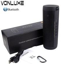 Vonluex Водонепроницаемый приемник Bluetooth Вибрационный Динамик 2000 мАч Спорт Caixa де сом порт Тиль Bluetooth Колонка для Xiaomi Динамик