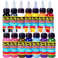 Wholesale New Xiulong Tattoo Ink 14 Colors Set 1oz 30ml Bottle Tattoo Pigment Kit
