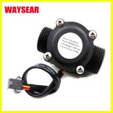 DN20 труба 3/4 ''Датчик потока воды зал расходомер, расходомер контроль воды 1-60 л/мин инструменты