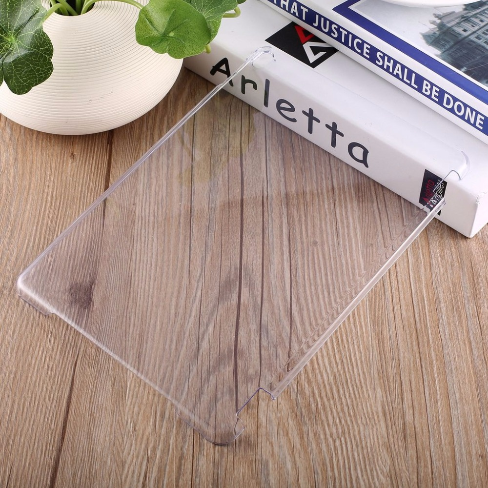 For IPad AIR2/For iPad 6 /For ipad 7 PC Protective Case Crystal Clear Hard PC Plastic Back Case Cover Slim Shell Promotion Drop for ipad mini4 cover high quality soft tpu rubber back case for ipad mini 4 silicone back cover semi transparent case shell skin