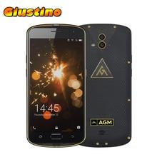 AGM X1 4 ГБ 64 ГБ Qualcomm Snapdragon MSM8952 1.5 ГГц Octa Core 5.5 дюймов FHD экран Android 5.1 IP68 Водонепроницаемый 4 г LTE смартфон