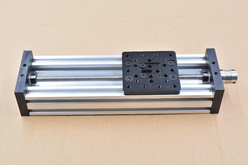 Imprimante 3d axe Z bricolage c-beam CNC table coulissante vis à tête voyage 700mm T8 8mm ensemble de kit actionneur linéaire
