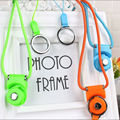 Mobile Phone Strap Colorful Cell Phone Camera Lanyard Rotating Detachable Phone Line Fashion Neck Chain Hot Sale         3079