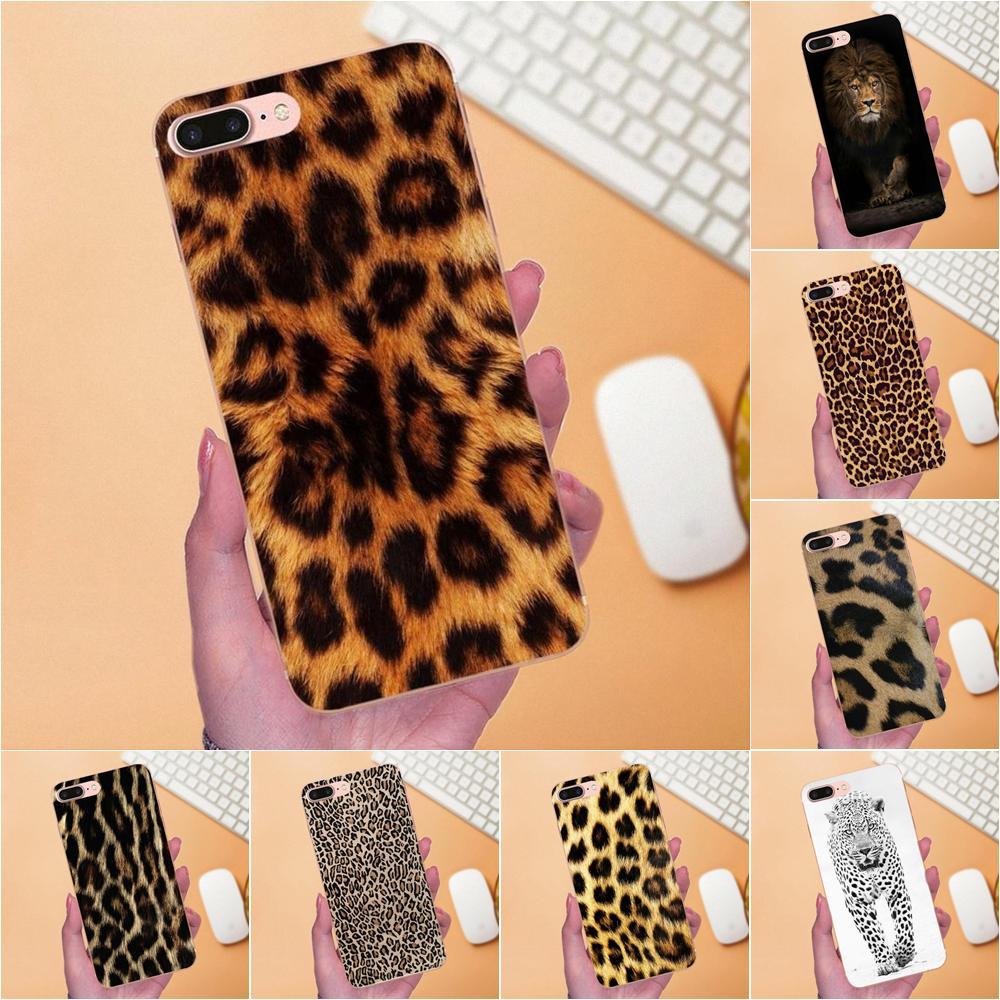 For Huawei Mate 7 8 9 10 20 P8 P9 P10 P20 P30 Lite Plus Pro 2017 Soft Silicone TPU Transparent Pattern Case Cover Tiger Leopard