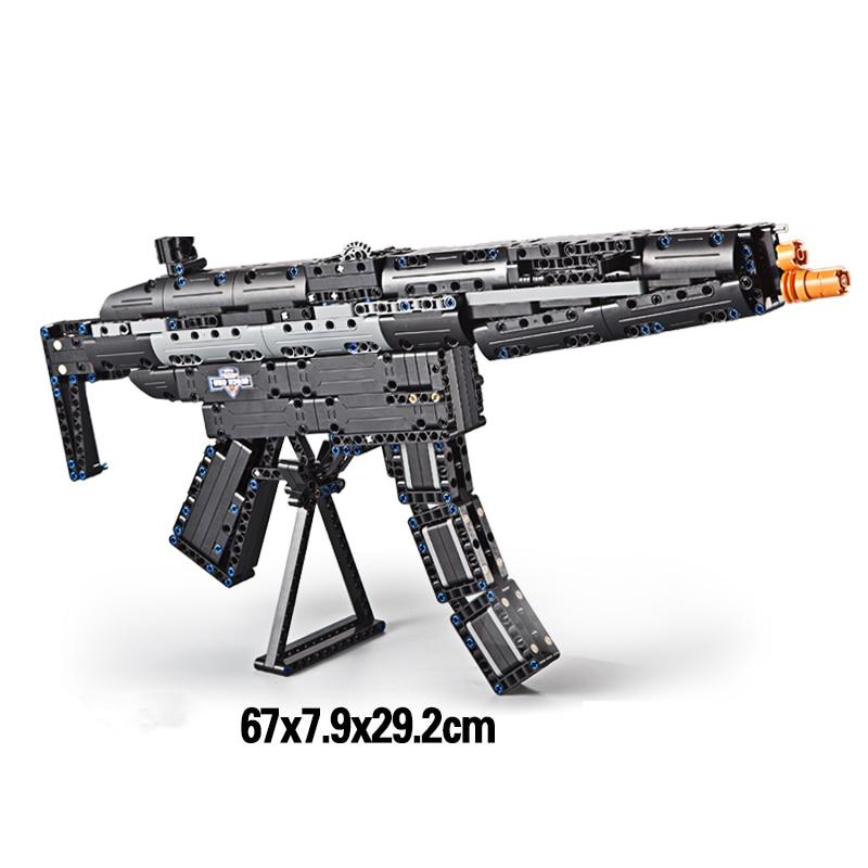 ბრენდები Toy Gun M4A1 Airsoft Air Guns and MP5 Toy - გარე გართობა და სპორტი - ფოტო 3
