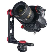 лучшая цена 720 Degree Panoramic Head Aluminium Alloy with Ball Head Quick Release Plate for Nikon Canon Sony DSLR Camera