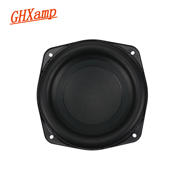 6 inch Pure Subwoofer Speaker Unit 4ohm 60W Deep Bass 3