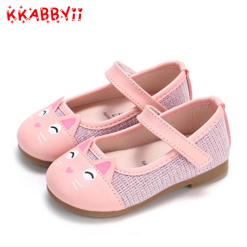 Spring Autumn New Cartoon Shoes For Girls Childrens Fashion Casual Shoes Girls Princess Shoes Non-slip Shoe For KidsSpring Autumn New Cartoon Shoes For Girls Childrens Fashion Casual Shoes Girls Princess Shoes Non-slip Shoe For Kids