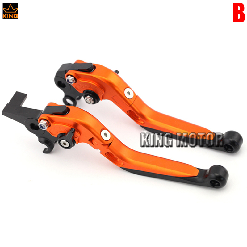 For KTM 990 950 640 Adventure Motorcycle Accessories Adjustable Folding Extendable Brake Clutch Levers for ktm 990 950 640 adventure motorcycle accessories adjustable folding extendable brake clutch levers