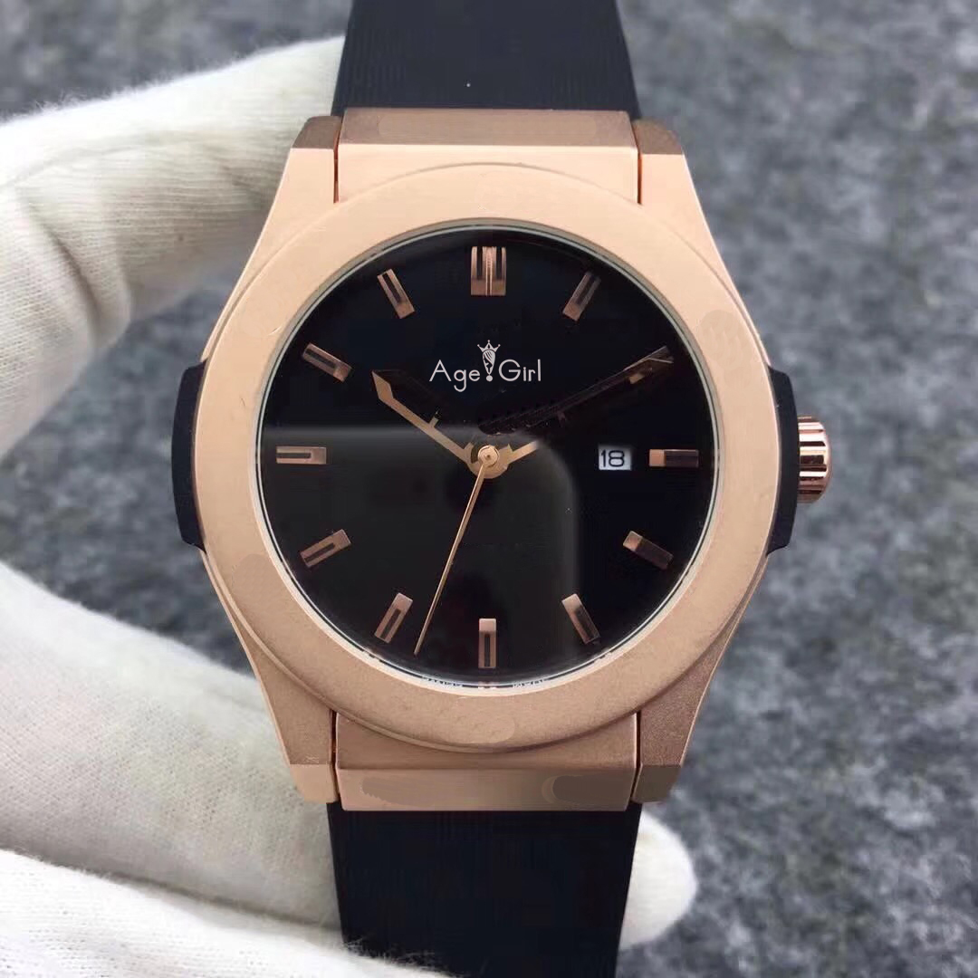 Luxury Brand New Men Watch Automatic Mechanical Stainless Steel Watches Silver Black Brown Leather Rose Gold Blue Glass Back AAALuxury Brand New Men Watch Automatic Mechanical Stainless Steel Watches Silver Black Brown Leather Rose Gold Blue Glass Back AAA