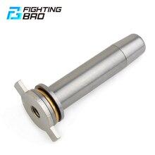 Fightingbro primavera guia v2/v3 m4/ak aeg metal para caixa de velocidades airsoft paintball caça acessórios