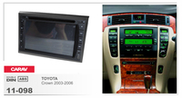 Navirider Android 8.0 radio tape recorder octa Core 4GB RAM 32GB rom (frame+DVD series) fit for Toyota Crown 2003 2006 car dvd