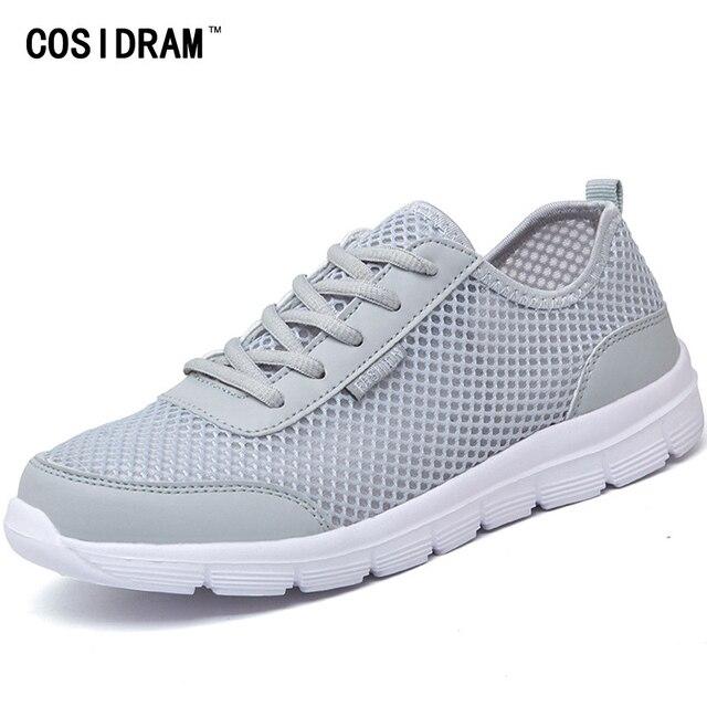 COSIDRAM Nouveau 2017 D'été Hommes Casual Chaussures Respirant Respirant Chaussures Mesh 5eea53