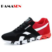 Hot 2016 Fashion Men Casual Shoes Spring Autumn Mens Trainers Breathable Flats Walking Shoes zapatillas hombre Free Shipping