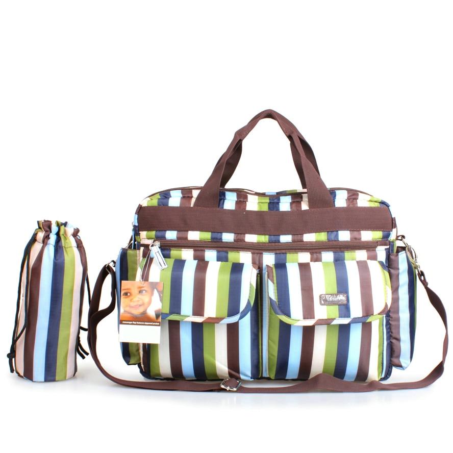 Rainproof Nappy Bag Big Capacity Tote Diaper Bags Durable Wet Bags Multi functional Baby Mummy Maternity