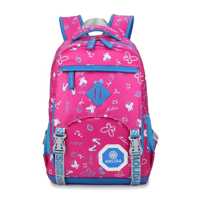preppy school bags backpack for girls teenagers cute nylon butterfly printing women backpack Female escolar mochilas