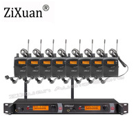 EM2050 Professional 10 receivers in stage monitor sound systems ear   monitor system Transmitter Sets|Microphones| |  -