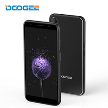 DOOGEE X55 Mobile Phone 5.5 Inch 1GB RAM 16GB ROM Android 7.1 Quad Core 3G Fingerprint Smartphone 8MP Dual Back Camera Cellphone