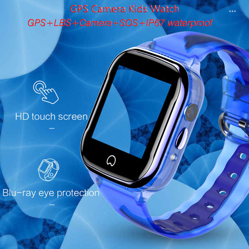 K21 Smart GPS Watch Kids 2019 New IP68 Waterproof SOS Phone Smart Watch Children GPS Clock Fit SIM Card camera Smartwatch